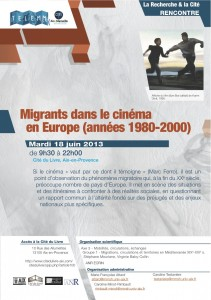 Rencontre de l'ANR EcrIn à Aix-en-Provence, 18 juin 2013